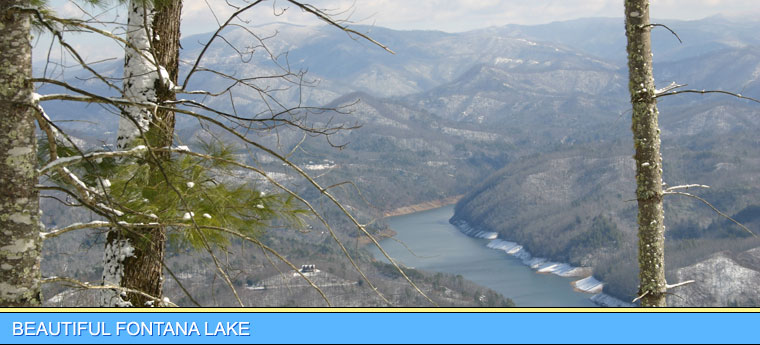 Fontana Lake Winter View